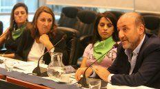 Caruana, secretario de Salud del municipio, habló de las políticas públicas respecto del aborto.