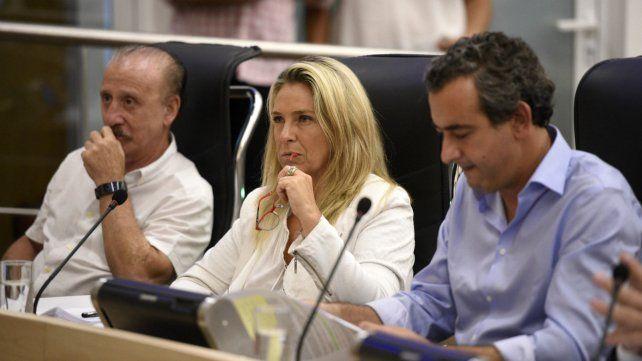 María Eugenia Schmuck, presidenta de la Comisión de Gobierno del Concejo.