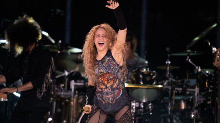 Shakira bate récords en sus shows antes de llegar a Rosario