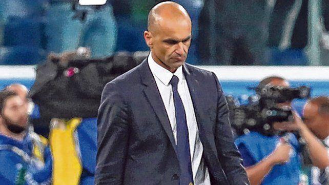 Sentimientos encontrados. Martínez destacó la actitud de sus jugadores.