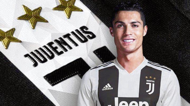 Cristiano, la cara nueva de la Juve