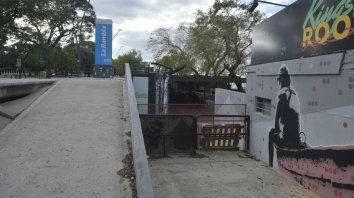 Desolación. Los locales estuvieron abiertos hasta el lunes pasado. A partir de ahora, permanecerán cerrados.