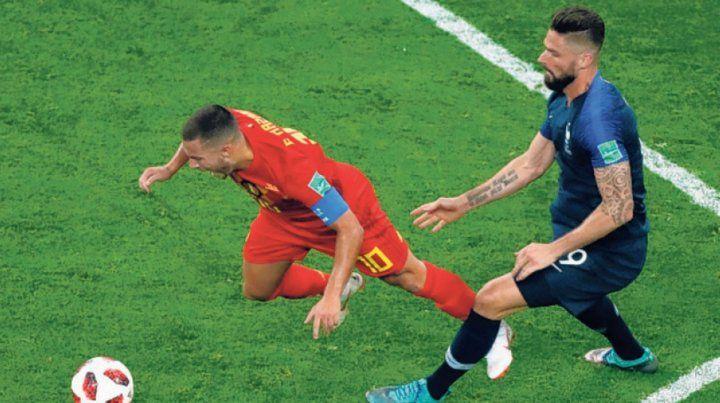 Francia llegó a la final con un 9 que no marcó ningún gol