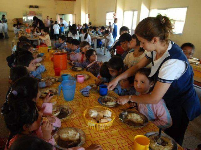 Polémica por la actualización de los fondos para los comedores escolares en la provincia