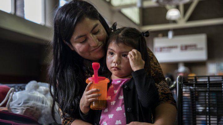 Trump comenzó el martes a reunir por orden judicial a los niños menores de cinco años a los que había separado de sus padres.