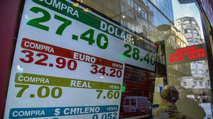 Movimiento. El dólar volvió a operar en alza