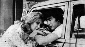 Pareja inolvidable. Soledad Silveyra y Claudio García Satur en el clásico de Migré, Rolando Rivas, taxista.