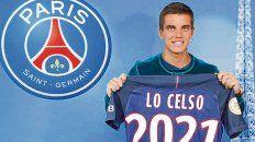 En París. Giovanni Lo Celso fue transferido al PSG hace dos años, pero todavía los pormenores de la transacción generan controversias en Rosario.