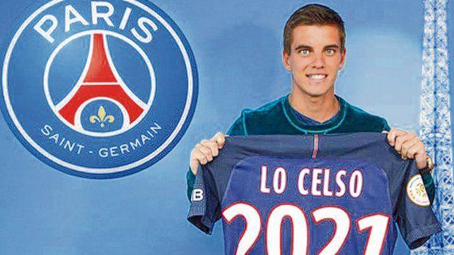 En París. Giovanni Lo Celso fue transferido al PSG hace dos años