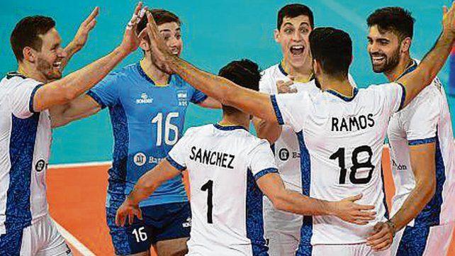 La selección masculina juega en Rosario