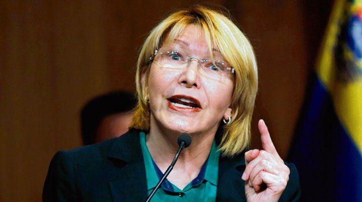 Exilio forzado. La ex fiscal general reside actualmente en Colombia.
