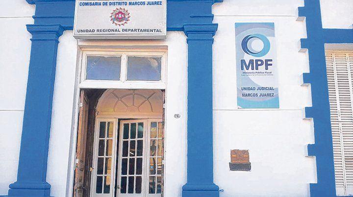 El lugar. La Comisaría de Marcos Juárez
