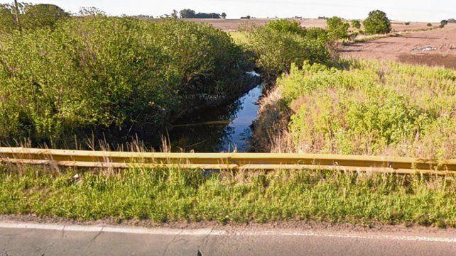trampa mortal. El nene se ahogó a un kilómetro del puente de la ruta 92.