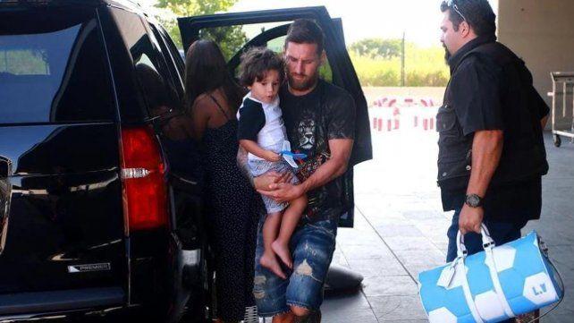Messi viajó en secreto de vacaciones al Caribe con su familia