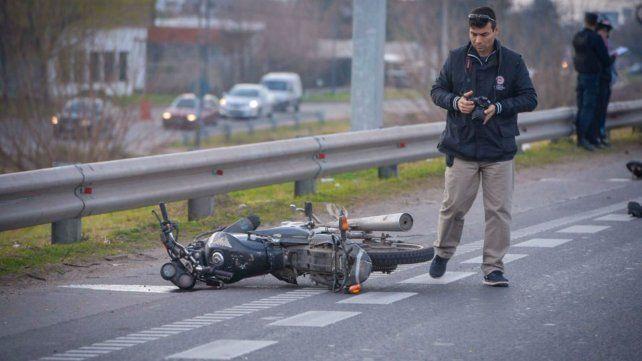 La moto en la que viajaba la víctima será sometida a pericias.