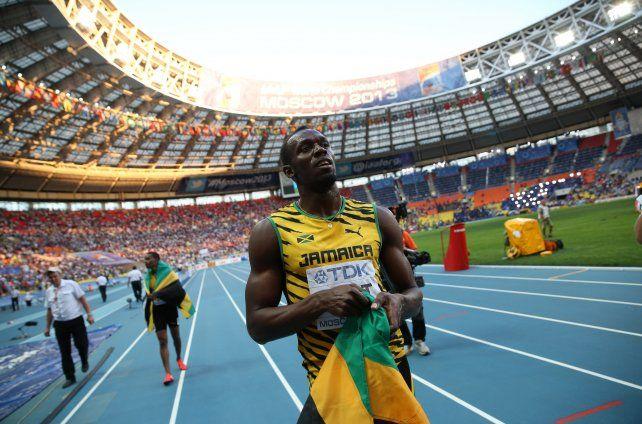 El jamaiquino Usain Bolt dio cátedra en el Luzhinki en 2013.