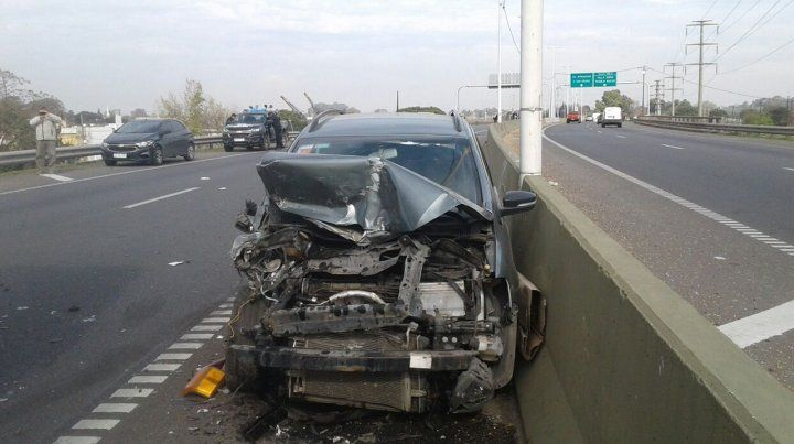 Un nuevo choque en cadena en Circunvalación involucró a siete vehículos y dejó cuatro heridos