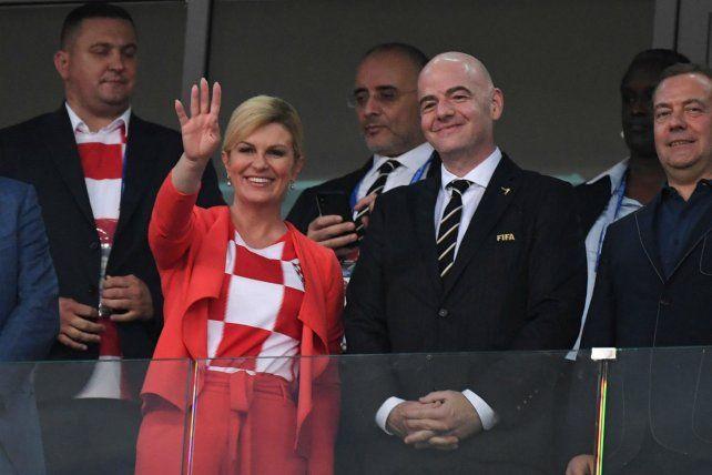 La presidenta Kolinda
