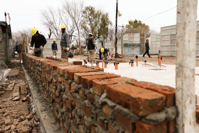 Obras. Ya se concretaron 110 nuevas viviendas en esa zona de la ciudad.