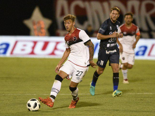 Discontinuo. Denis Rodríguez jugó poco con De Felippe. Se iría al pirata por un año.