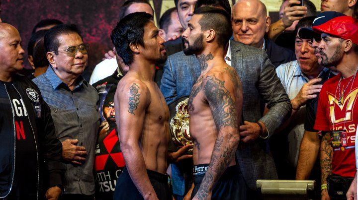 Pacquiao y Matthysse