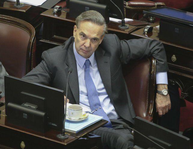 El senador justicialista Miguel Angel PIchetto