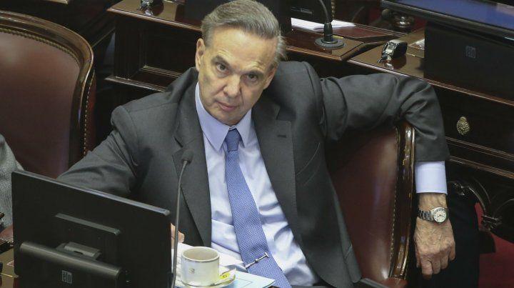 Dardo. El senador aseguró que el gobierno de Macri es injusto.