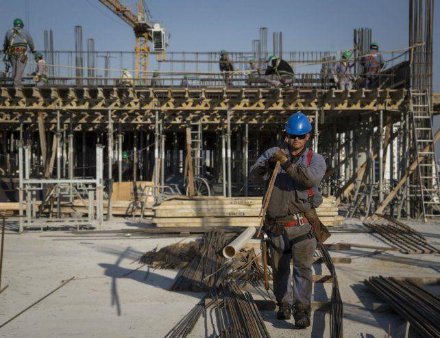 Los empresarios de la construcción no ocultaron su malestar.