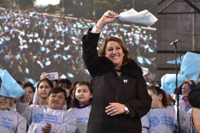 Mónica Fein se despide del Palacio de los Leones.