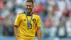 Hazard. El talentoso capitán belga brilló en todo el Mundial con luz propia.