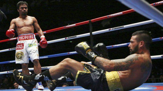 Matthysse no pudo ante Pacquiao y perdió el título por nocaut