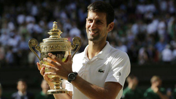 Djokovic derrotó a Anderson y ganó su cuarto título de Wimbledon