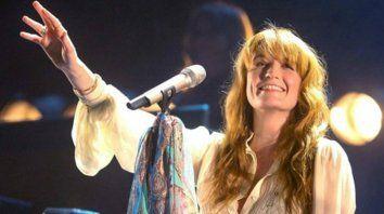 Florence Welch está al frente de la banda que se convirtió en  una de las referentes de la música británica de la última década.