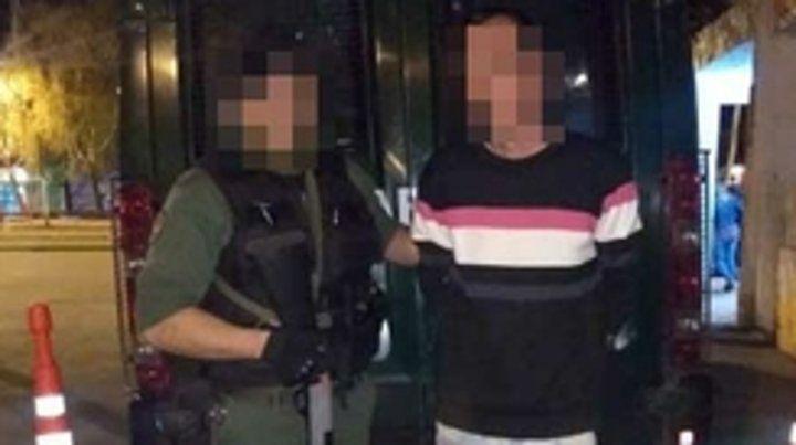 La detención fue el sábado a la noche en Grandoli al 3900.