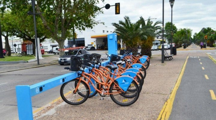 Ecológicas y saludables. La red de bicicletas públicas ya sumó 52 estaciones y conecta 14 barrios.