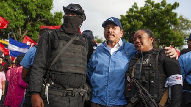 Terror. El presidente Daniel Ortega