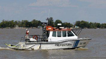Se reanudó la búsqueda de los tripulantes que naufragaron a la altura de Pueblo Esther