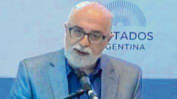 Voz de funcionario. Daniel Teppaz, coordinador de salud sexual y reproductiva de Rosario.