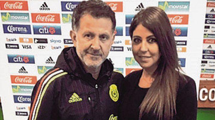 Osorio, a Rusia con dos mujeres