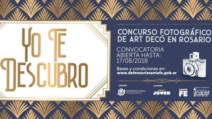 Concurso fotográfico para descubrir el Art Decó en Rosario