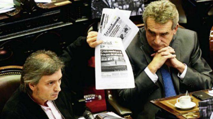 La oposición consideró odioso o execrableel préstamo del FMI