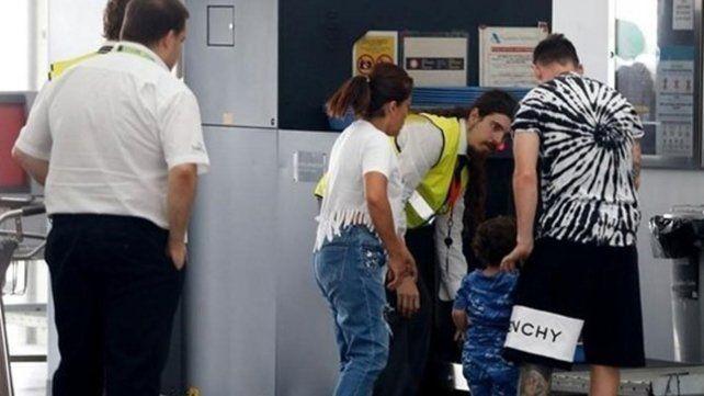 Messi se fue de vacaciones con su familia a Ibiza
