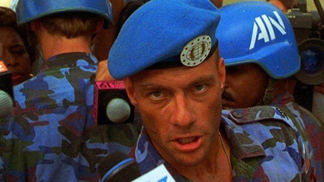 Van Damme en un rodaje caótico
