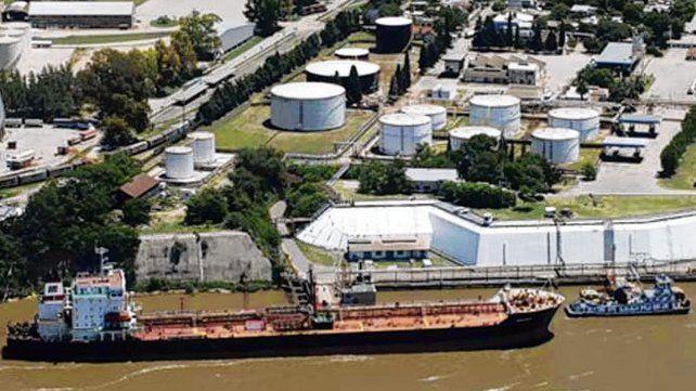 La refinería. La planta de Oil desde mayo generó acciones legales.