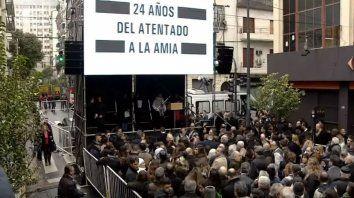 Recuerdan a las víctimas de la Amia, a 24 años del atentado