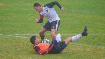 Newells probó con Patronato y Amoroso hizo un gol