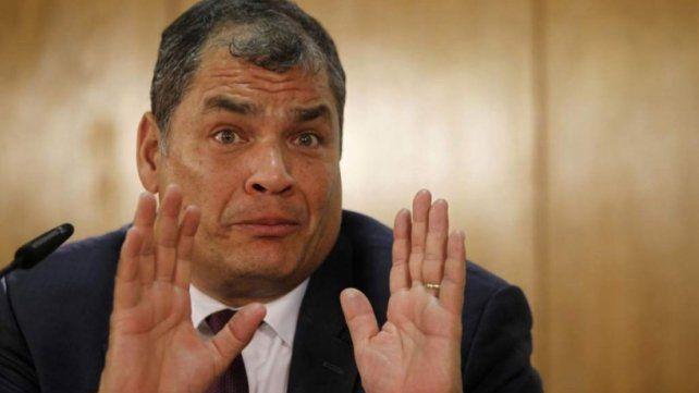 Ex presidente ecuatoriano Rafael Correa, a un paso del juicio por secuestro