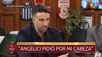 Flavio Azzaro: Angelici llamó, pidió mi cabeza y me echaron
