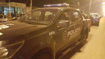 La policía dice que el hombre herido en el pecho atacó primero