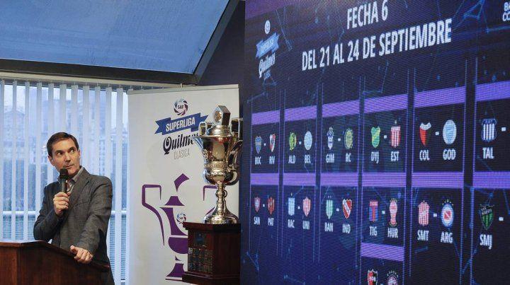 El fixture de la Superliga y los partidos de Central y Newells